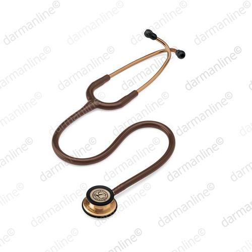 گوشی-پزشکی-لیتمن-مدل-کلاسیک-3-شکلاتی-مسی