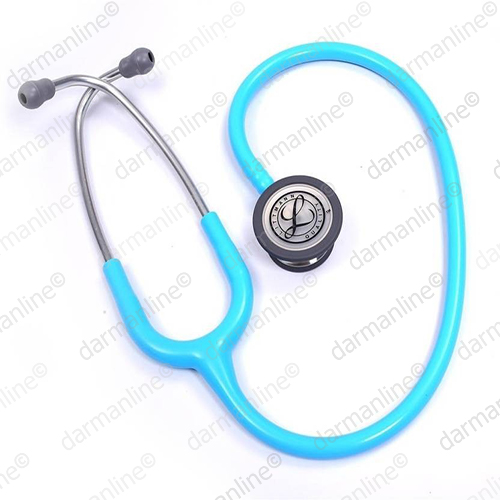 گوشی-پزشکی-لیتمن-مدل-کلاسیک-3-فیروزه ای-